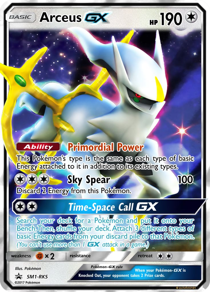 Image result for arceus gx fake pokemon cards pokemon