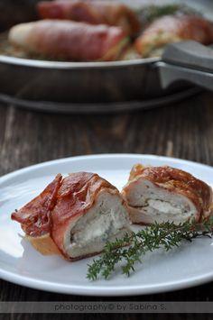 Due bionde in cucina: Involtini di pollo con prosciutto crudo, ricotta e salvia