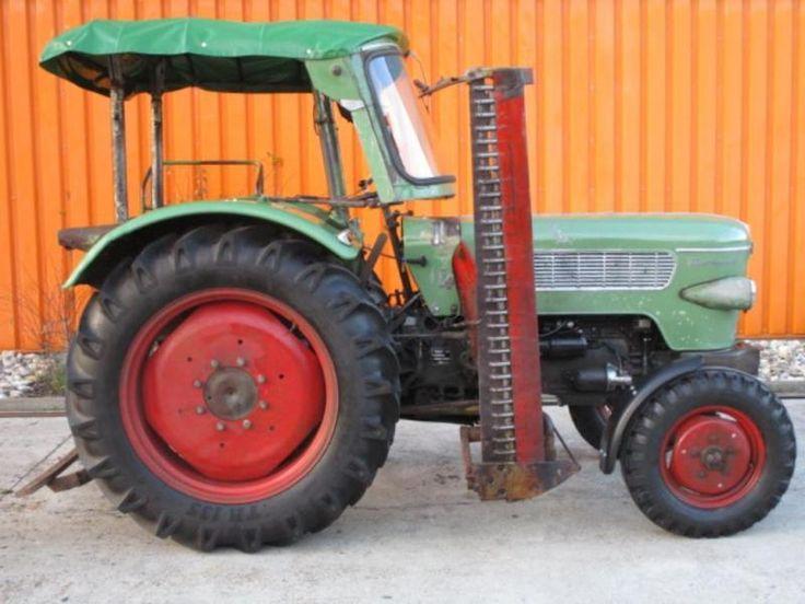 Tracteur Fendt Farmer 2, Overdrive, pneus + TÜV nouveau en Bavière - Stetten | remorques d'automobile à vendre | Kijiji