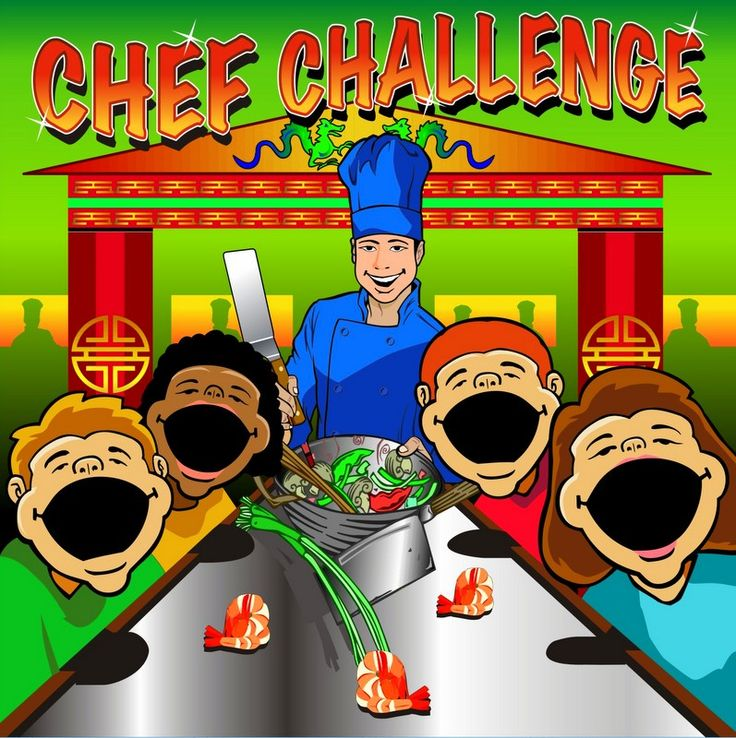 Chef Challenge Interactive Carnival Frame Game A Chefs Is The Perfect Addition To Your Birthday Party Field Day Backyard