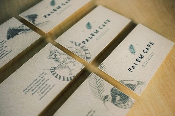 Palem Cafe Restaurant - Visual Identity on Behance