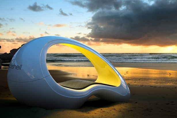 Attractive Napshell   This Ergonomic Modern Bed Was Designed By Seven Architecture  Students And Can Be Used Both, Indoor And Outdoor. On Orders, Different Mou2026 Amazing Ideas