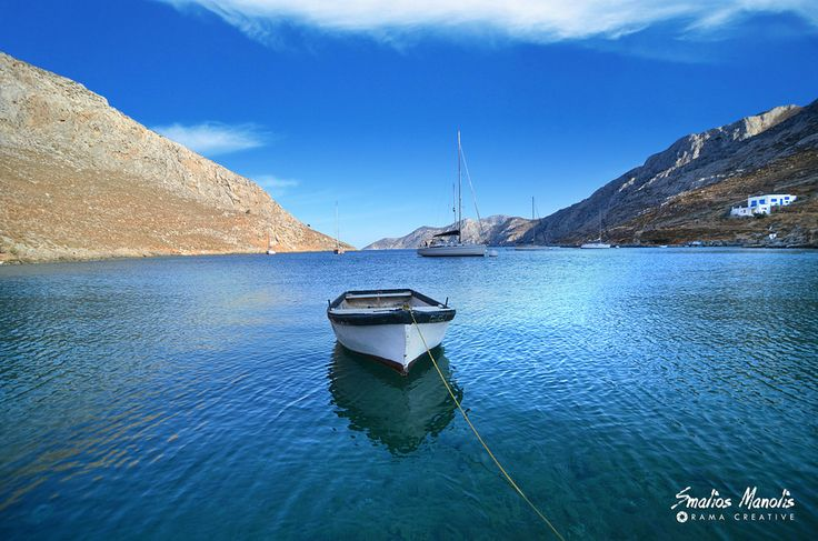 Palionissos bay at Kalymnos by Manolis Smalios #south_aegean