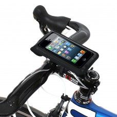 """Satechi RideMate BM Works Zip 4x6"""" Universal Bicycle Mount (Black) for iPhone 5S, 5C, 5, 4S, 4, 3GS, 3G, BlackBerry Torch, HTC EVO, HTC Inspire 4G, HTC Sensation, Droid X, Droid Incredible, Droid 2, Droid 3, Samsung EPIC, Galaxy S2, S3, S4, Note 2"""
