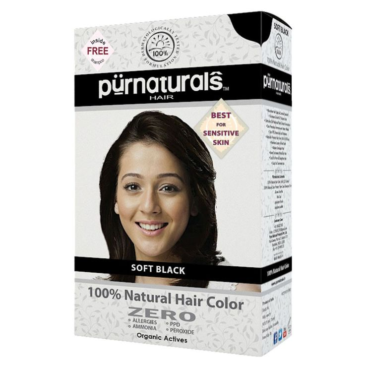 Best for sensitive skin, no side effects, loved by happy users, physician formulated 100% Natural Black Hair Color.
