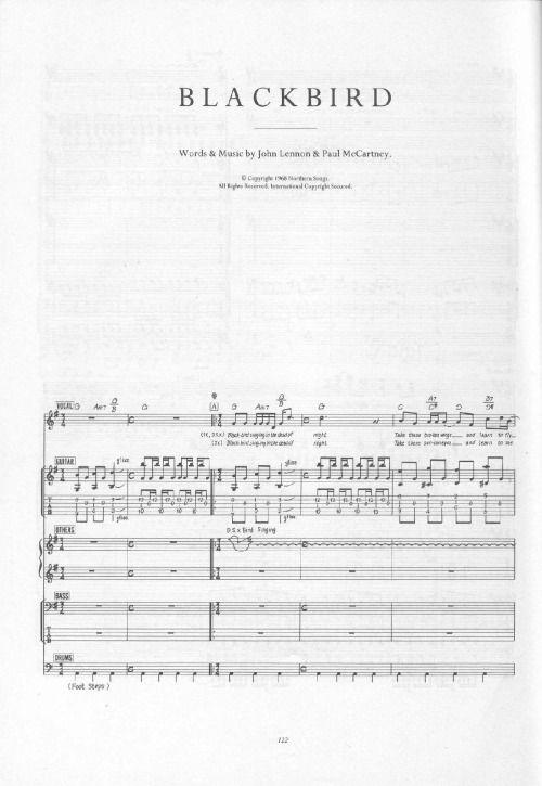 """Blackbird"" by Lennon and McCartney"