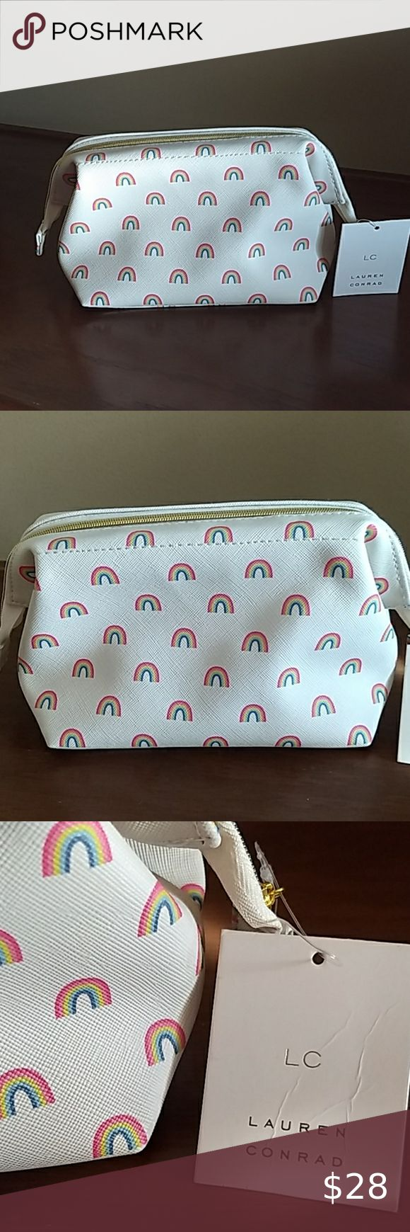 LC Lauren Conrad Rainbow Cosmetic Bag in 2020 Cosmetic
