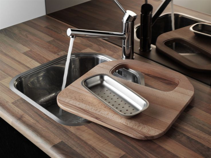 #Reginox Denver sink with chopping board and colander accessories.  http://www.sinks-taps.com/item-6099-DENVER_Single_Bowl_Sink.aspx