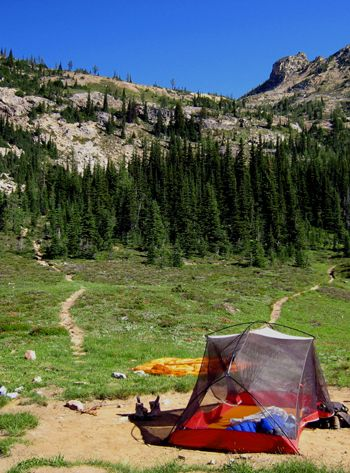 Tips to shed weight from your tent