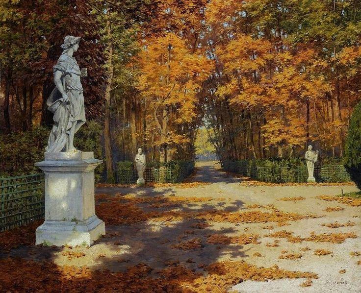 "Бессонов Борис Васильевич (1862-1934 г.), ""Осенний парк"""