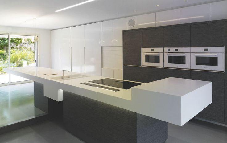 Contemporary kitchen / Corian® IMAGE.01 by Monique Barruel IMAGE