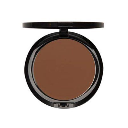 Iman Cosmetics Second to None Cream to Powder Foundation, Deep Skin, Earth 4, 0.35 Oz, Brown