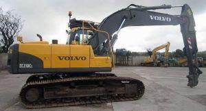 Volvo Ec210cl Excavadora Servicio Manual de Reparacion