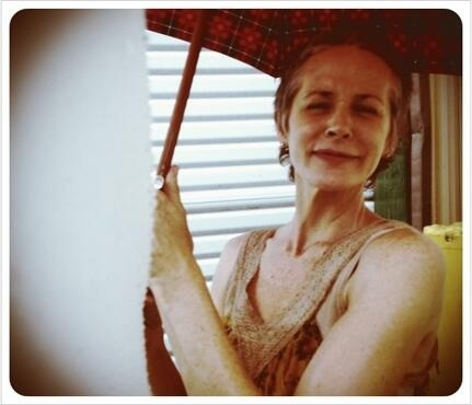 This woman is TOO ADORABLE for words. Photo by Mr. Reedus ;]