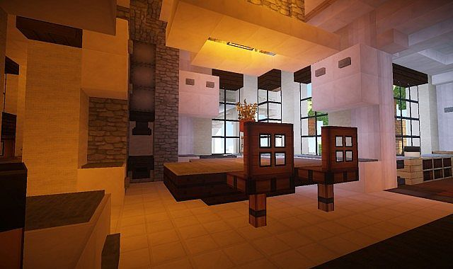 Mediterranean Estate Minecraft house ideas 7