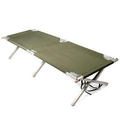 実物 米軍 フォールディングコット(折り畳み野戦ベッド)/slno90505109 折りたたみ式ベッド