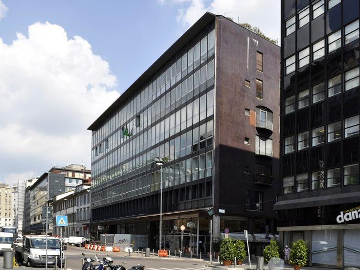 Edifici per uffici e negozi - La Racchetta, la grande incompiuta - itineraries - Ordine degli architetti, P.P.C della provincia di Milano