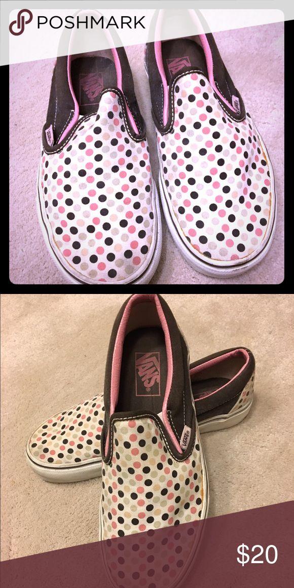 e95c460932 Polka dot slip on Vans. Van ShoesMint GreenSlip ...