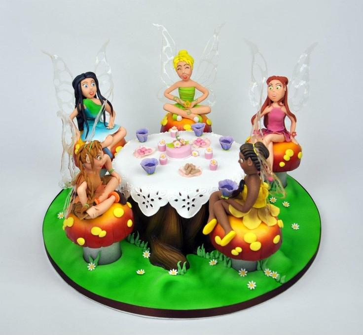 Images Of Tinkerbelle Birthday Cakes Debbie