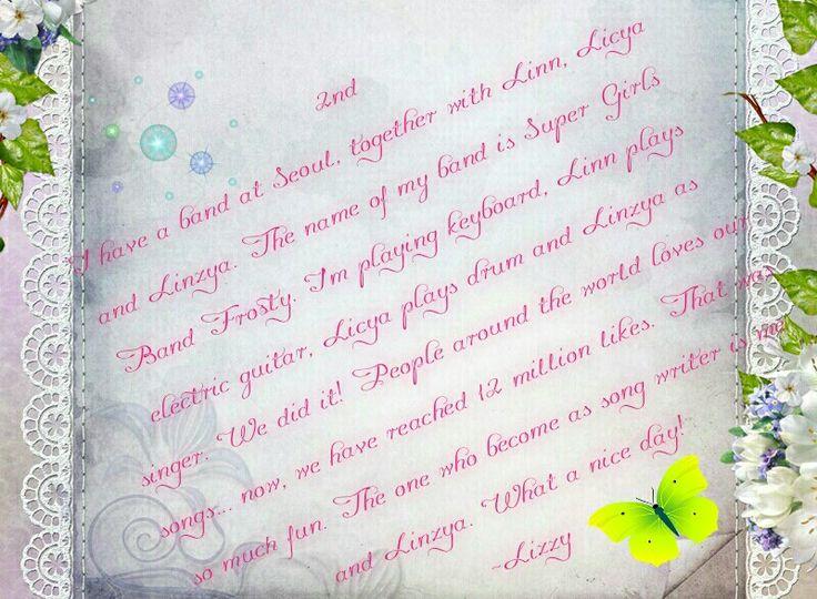 My own diary maker. Please like it...