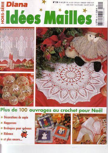 Diana idées mailles 2H - Noël - Carmen Fernandez - Picasa Web Albums HEZKÉ VÁNOČNÍ HÁČKOVÁNÍ