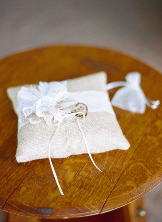 rustic-ring-pillows-virginia-wedding-Gabe-Aceves-photography | Washington DC Weddings, Maryland Weddings, Virginia Weddings :: United With Love™ :: Fresh Inspiration, Ideas and Vendors