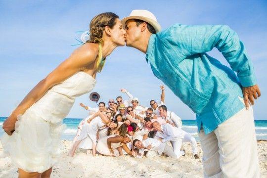 Bodas en la playa Beach weddings Playa el Secreto