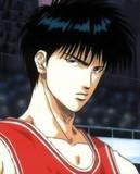 Kaede Rukawa, Slam Dunk