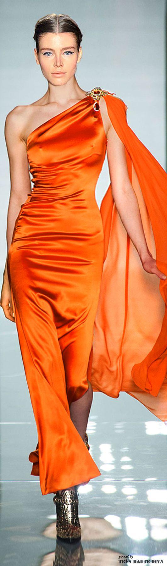 Roccobarocco Fall/Winter 2014  #Orange