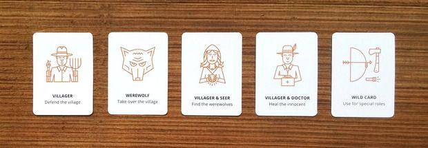 Werewolf Card Game. RN