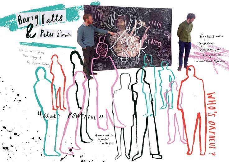 Ulster Festival of Art & Design 2015 // zine spread