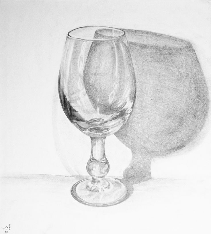Glass 6b Pencil Gt My Art In 2019 Glass Drawings Sketch A Day