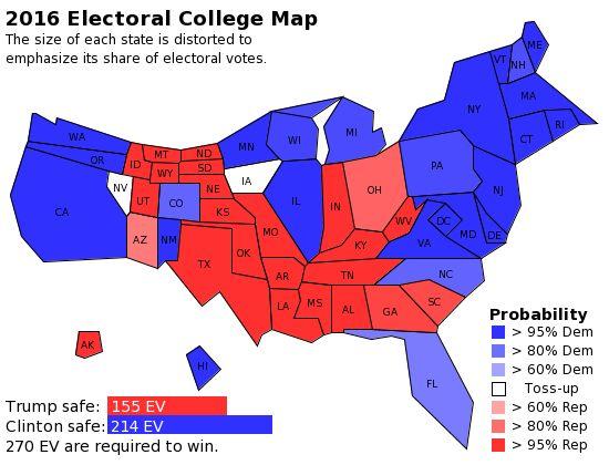 Best Electoral College Map Ideas On Pinterest Electoral - 2016 us map for electoral votes to color in