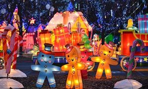 Groupon - Holiday Theme-Park Visit at Global Winter Wonderland (Up to 46% Off). Five Options Available. in CAL EXPO. Groupon deal price: $27