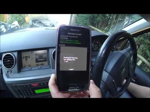 Land Rover Discovery 3 (LR3) Key Programming with the IID
