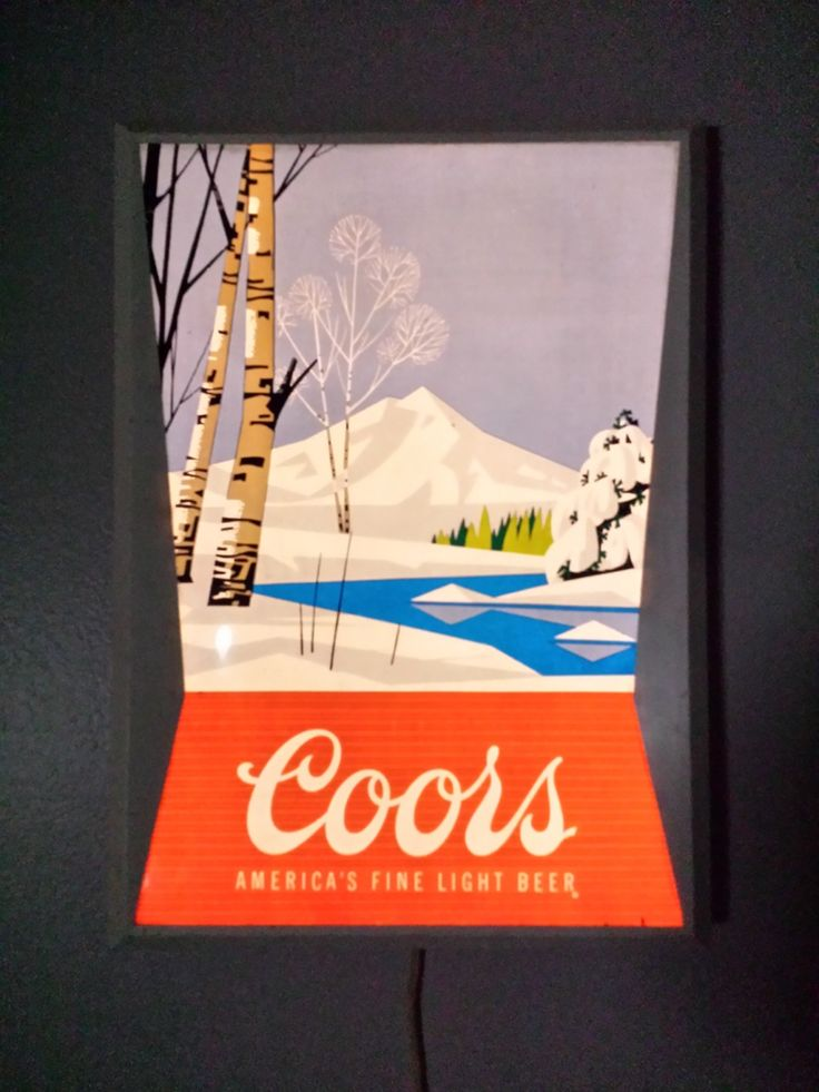 Coors Light Wall Sign | Collectors Weekly