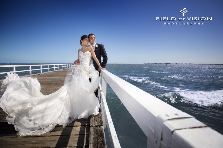Melbourne Wedding Photographer Field Of Vision Photography Kerford Pier