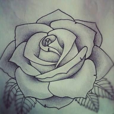 Rosa Desenho Tattoo Pesquisa Google Como Dibujar Rosas