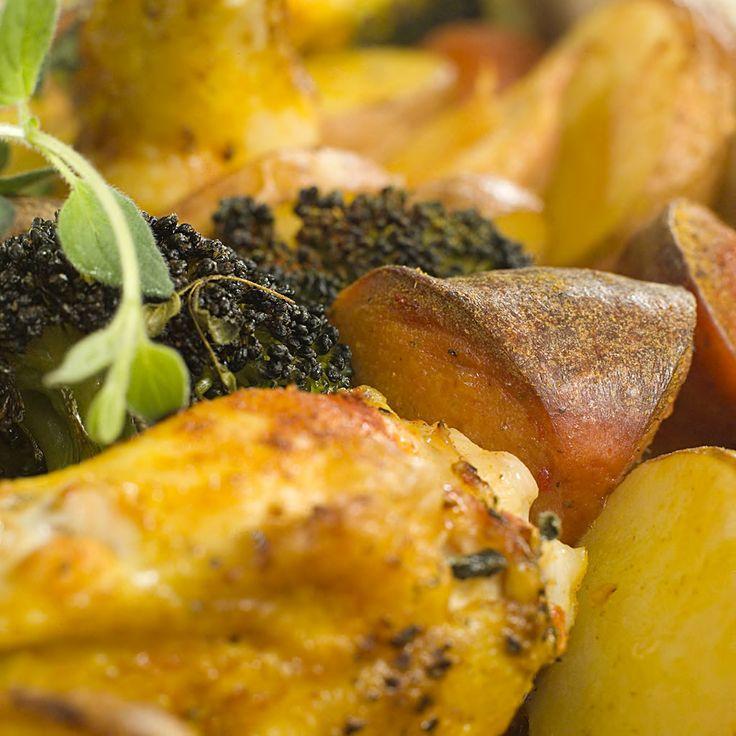 kylling og pølse i form 3