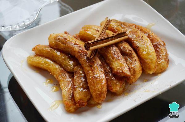 Receta de Bananos asados con canela #RecetasGratis #RecetasdeCocina #RecetasFáciles #Postres #PostresFáciles #Desserts #PostresCaseros #BananosAsados #PlátanoAsado