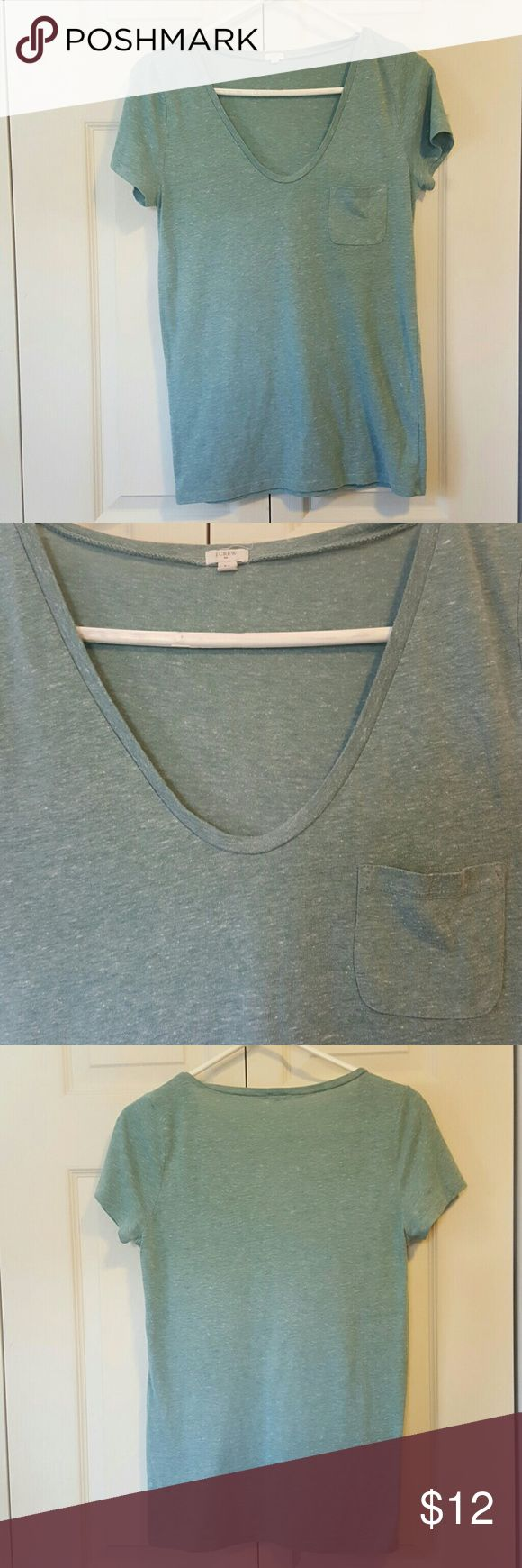 J Crew T Shirt Medium Mint Green J Crew T Shirt Medium Mint Green Bundle 2 and save 20%!! J. Crew Tops Tees - Short Sleeve