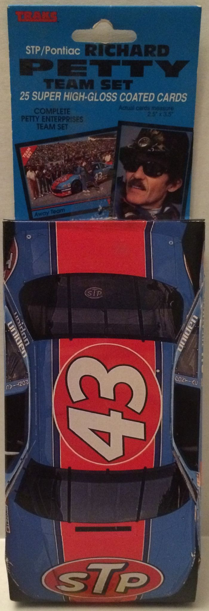 (TAS032073) - Traks sTp Pontiac Richard Petty Nascar Team Set Cards #43
