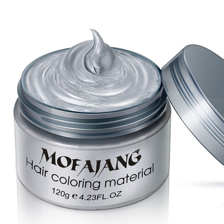One-time Harajuku Style Styling Products Hair Color Molding Paste Seven Colors Hair Dye Wax