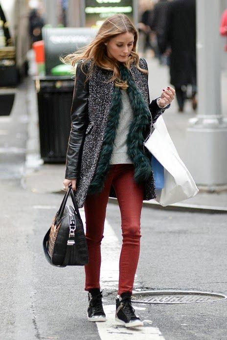 Olivia Palermo in New York.