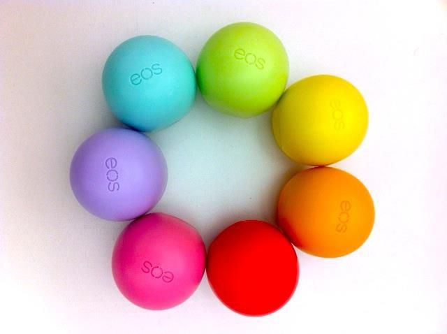 eos lip balm! Oh my goodness I love this stuff! I want ...