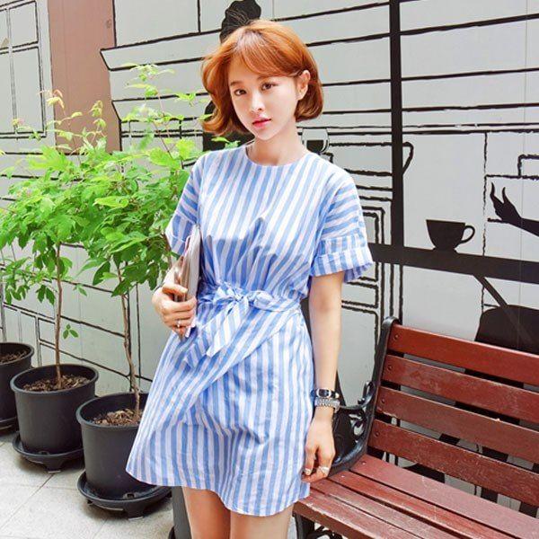 #스트라이프원피스 >> http://me2.do/G1LrQHkj  #임블리 #imvely #데일리룩 #여자코디 #여자옷 #여름코디 #여름휴가 #스트라이프 #스트라이프원피스 #원피스 #여름원피스 #데이트룩 #stripe #dailylook #ootd #fashion #dress