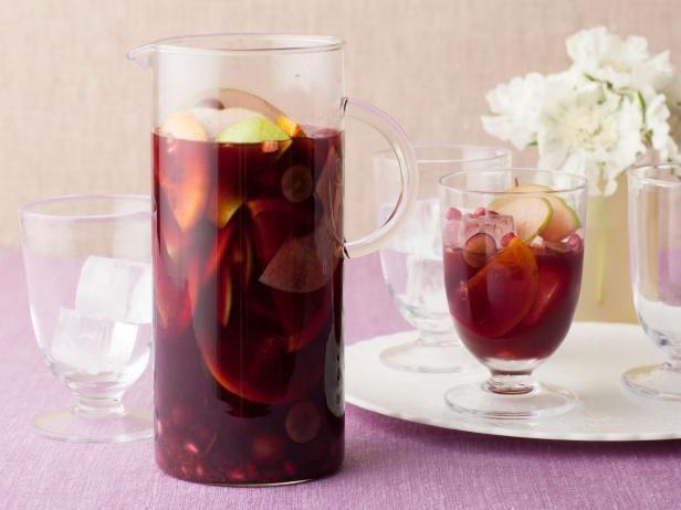Pomegranate Sangria Recipe | Bobby Flay | Food Network