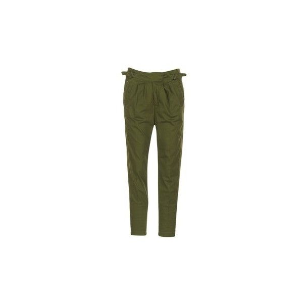 G-Star Raw BRONSON ARMY MID BOYFRIEND CHINO Trousers (2,205 EGP) ❤ liked on Polyvore featuring pants, green, g star raw pants, chinos pants, green pants, g-star raw and army trousers