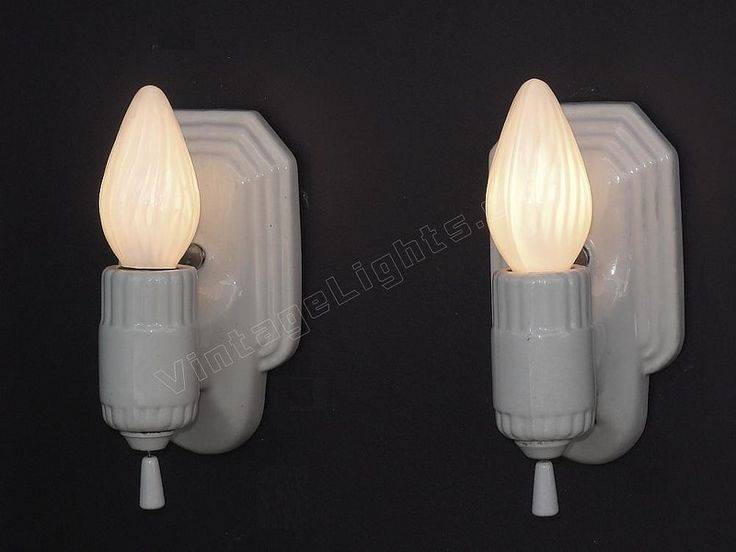Vintage Wall Sconces Bathroom : 157 best Vintage Bathroom Light Fixtures images on Pinterest Bathroom light fixtures, Vintage ...