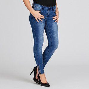 Dannii Minogue Petites Blue Indigo Jeans | Target Australia